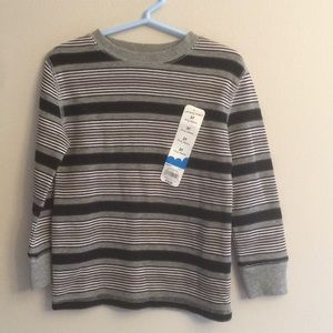 NWT jumping beans striped thermal